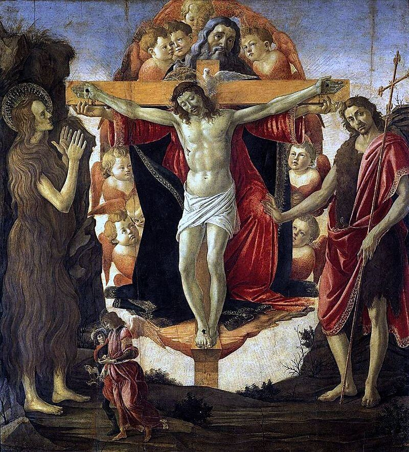 Holy Trinity, 1493 by Sandro Botticelli