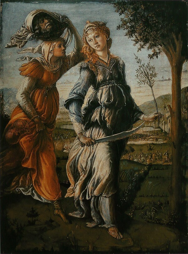 The Return of Judith to Bethulia, 1472 by Sandro Botticelli